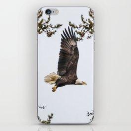 October Eagle II iPhone Skin