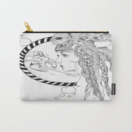 Octopus Woman Carry-All Pouch