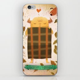 Sleeping Monster iPhone Skin