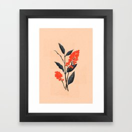 Kalemba Flower I Framed Art Print