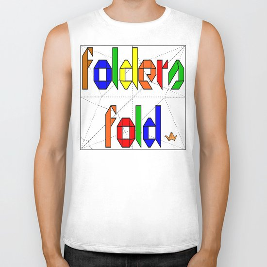 Folders Fold Biker Tank