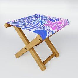 Garden – Indigo Palette Folding Stool