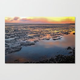 Waddenzee, The Netherlands Canvas Print