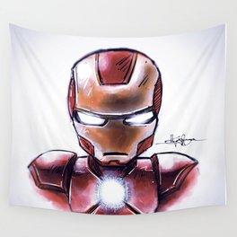 Iron Man - Chibi Anime Style Wall Tapestry