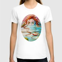 siren T-shirts featuring Siren  by Amanda Sharples Illustration