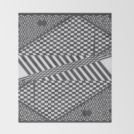 Twisted mind Throw Blanket