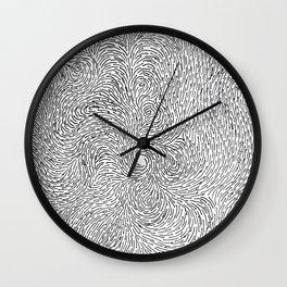 Turbulence 6 Wall Clock