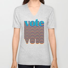 Get out the Vote Unisex V-Neck