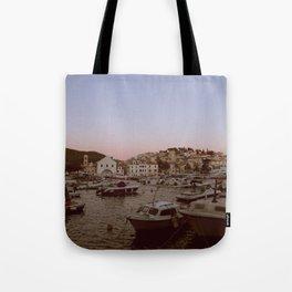 Croatian Harbour Tote Bag