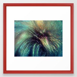 Bischon Flower Framed Art Print