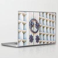 korean Laptop & iPad Skins featuring Korean Palace Doors by Jennifer Stinson