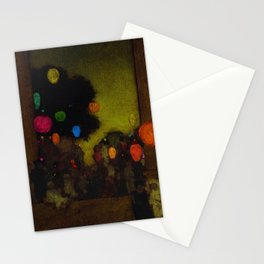 Festival of Lanterns, Twilight by Maxfield Parrish Stationery Cards