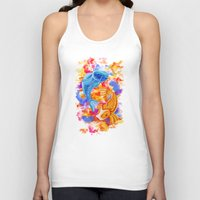 koi Tank Tops featuring Koi  by Nelson J