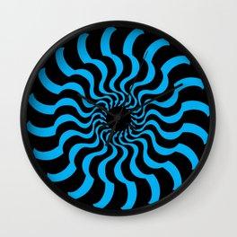 EYE 2(BLACK/BLUE) Wall Clock