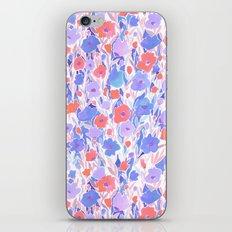 Flower Field Apricot Lilac iPhone & iPod Skin