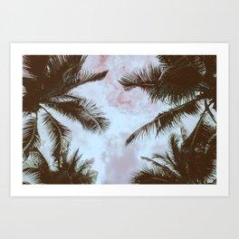 Vintage Palms Art Print