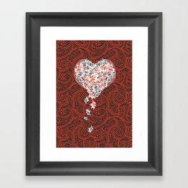 Pattern lovers Framed Art Print