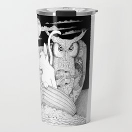 The Owl and the Pussycat Travel Mug