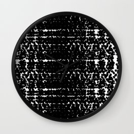 Black mood Wall Clock