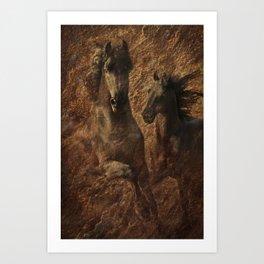 The Spirit of Black Sterling Art Print