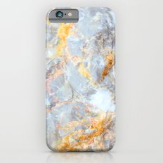 Grey & Gold Marble iPhone 6 Slim Case