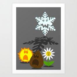 Winter is Coming... 2 Art Print