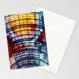 Collage Bogen color Stationery Cards