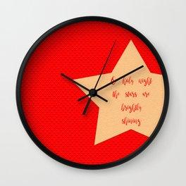 Holy Night Wall Clock