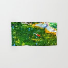 Glowing Reflecting Pond Hand & Bath Towel