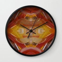 Tarot card VI - The Lovers Wall Clock