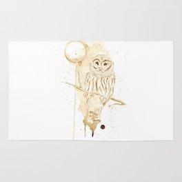 Coffee Owl Rug