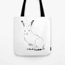 Snow Rabbit Tote Bag