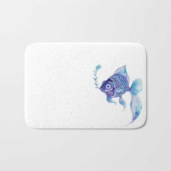 Baby Blue #5 Bath Mat
