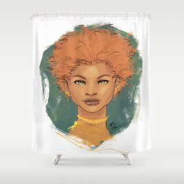 The brave love Shower Curtain