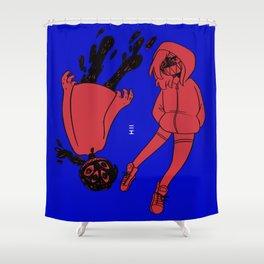 imbalance Shower Curtain