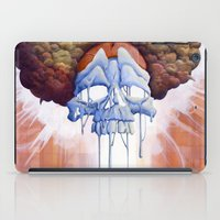 hippy iPad Cases featuring Drippy Hippy by Brian DeYoung Illustration