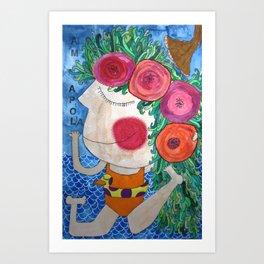 Amapola Art Print
