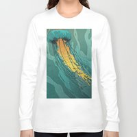 jellyfish Long Sleeve T-shirts featuring Jellyfish  by Stranger Designs