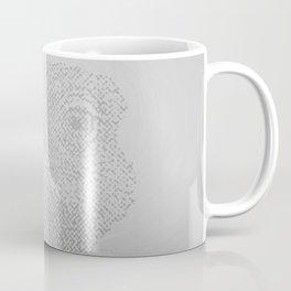 Halftone Ostrich Coffee Mug
