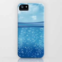Come, Swim with me - series - iii -  iPhone Case
