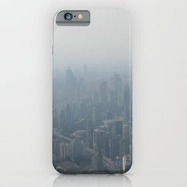 fade to gray (Shanghai) iPhone Case