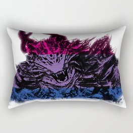 Bisexual Pride Demon Rectangular Pillow