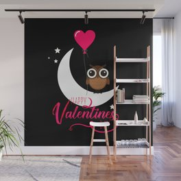 Happy Valentines Day Wall Mural