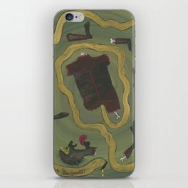 Dismembered iPhone Skin