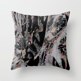 Web of Space Throw Pillow