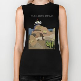Mailbox Peak, Washington Biker Tank