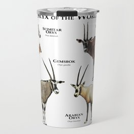 Oryx of the World Travel Mug