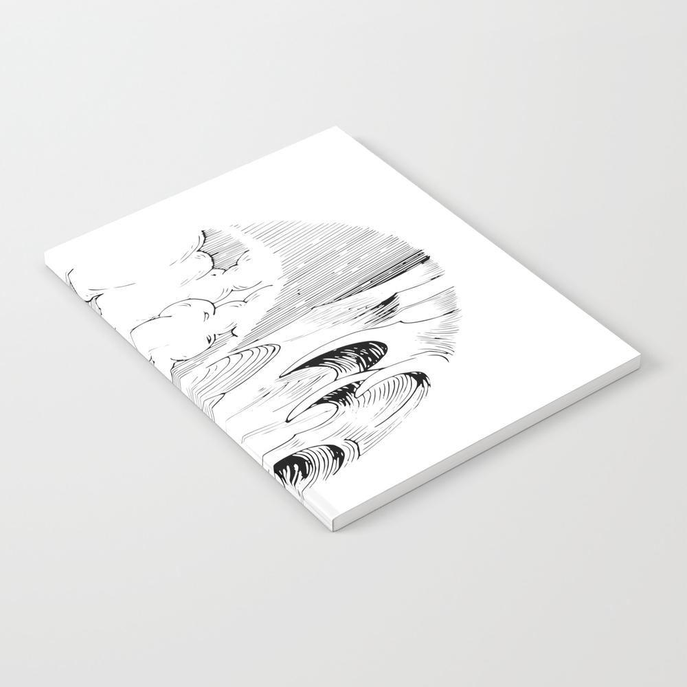 Storm In A Cup Notebook by Adhesive NBK8492934