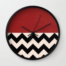 Black Lodge Wall Clock