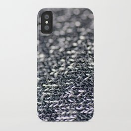Megan Wearing Soo's Sweater iPhone Case